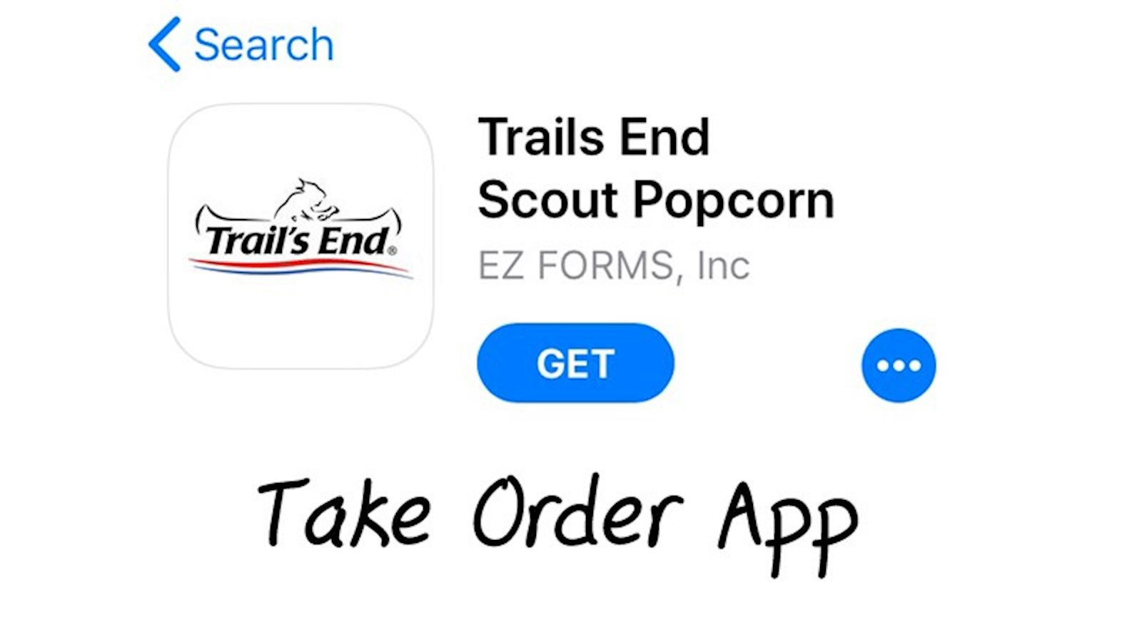 Introducing the Trail's End Take Order Digital App