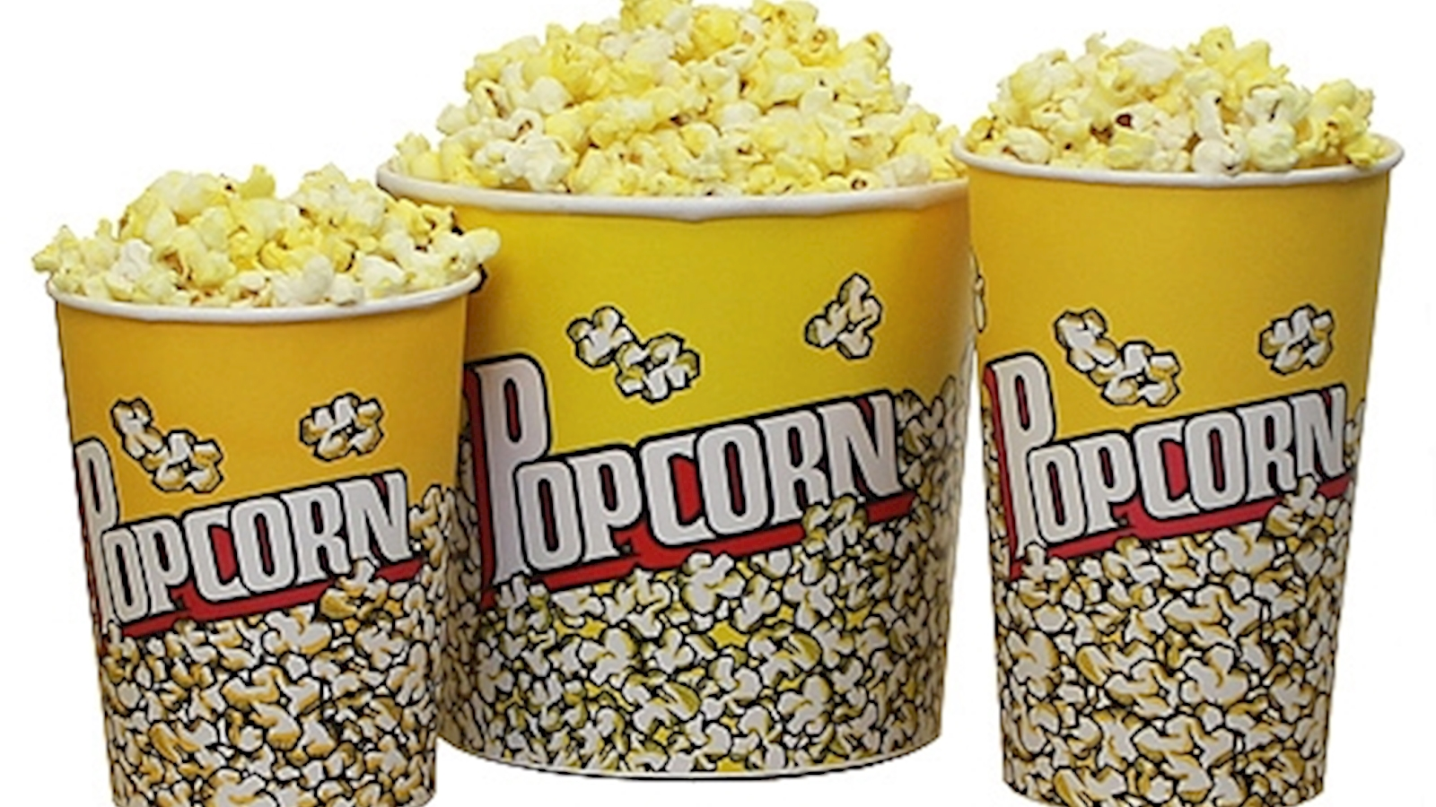 Dick in popcorn bucket